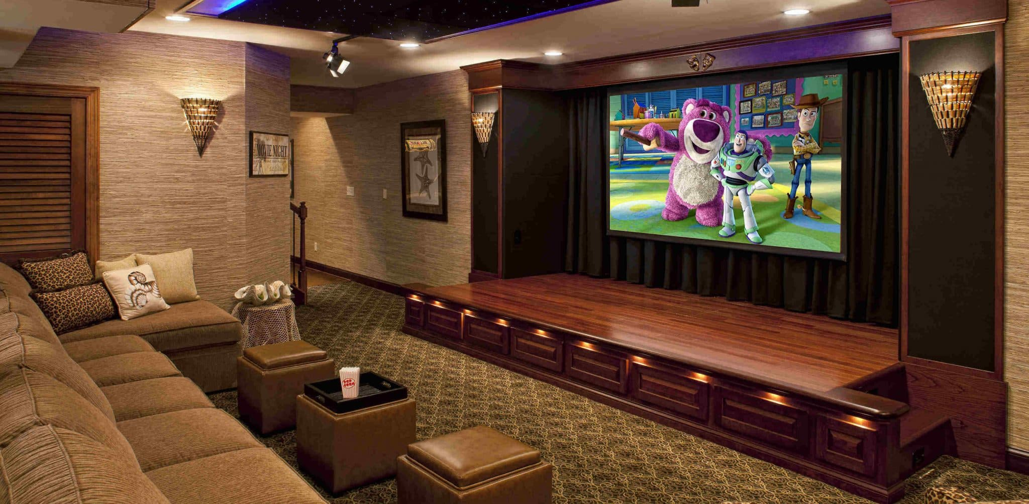 Home Theater Design Ideas Pictures Tips Options HGTV Luxurious - Home theater design group