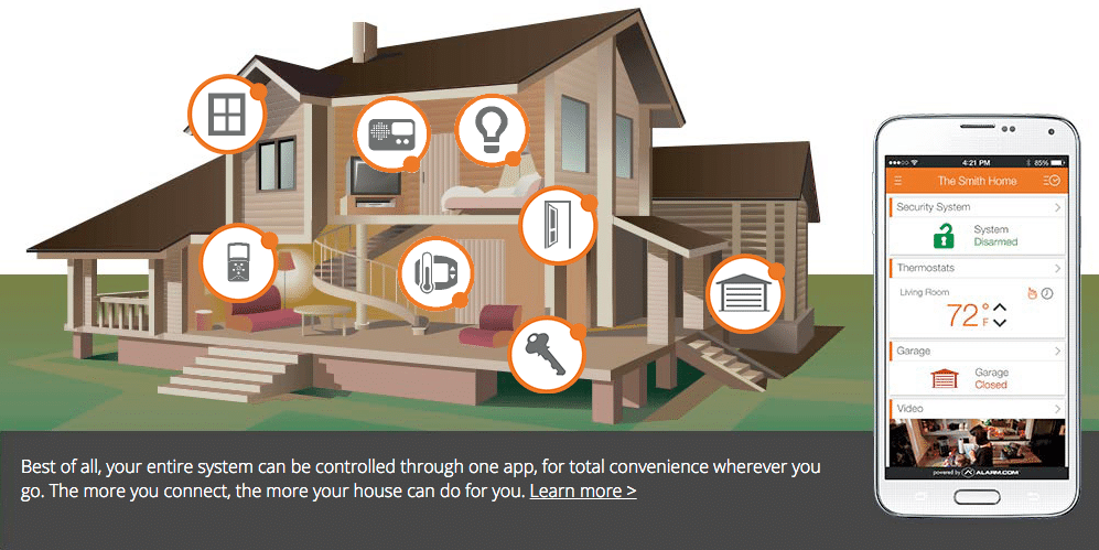 Alarm.com\u0027s intelligent services platform is the foundation for your connected home \u2013 giving you access to advanced control better awareness and reliable ...