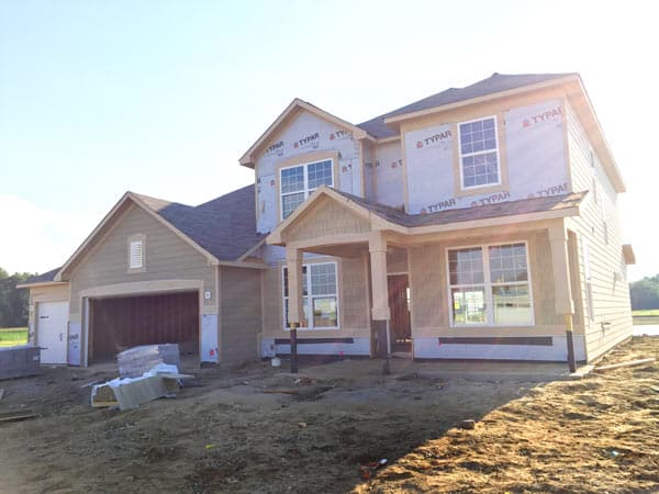 indianapolis new construction home
